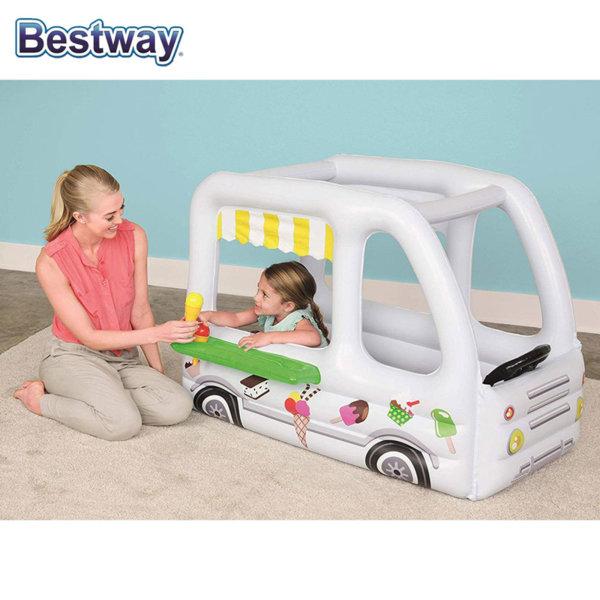 Bestway Надуваем автобус за сладолед 52268