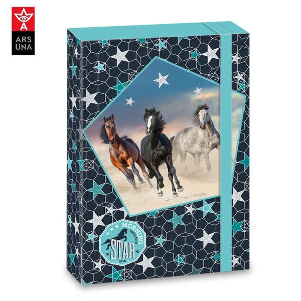 Ars Una Morning Star Папка кутия с ластик A4 Ars Una 90858932
