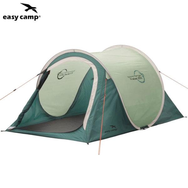 Easy Camp Двуместна палатка за къмпинг Pop-up Xplore зелена 85519