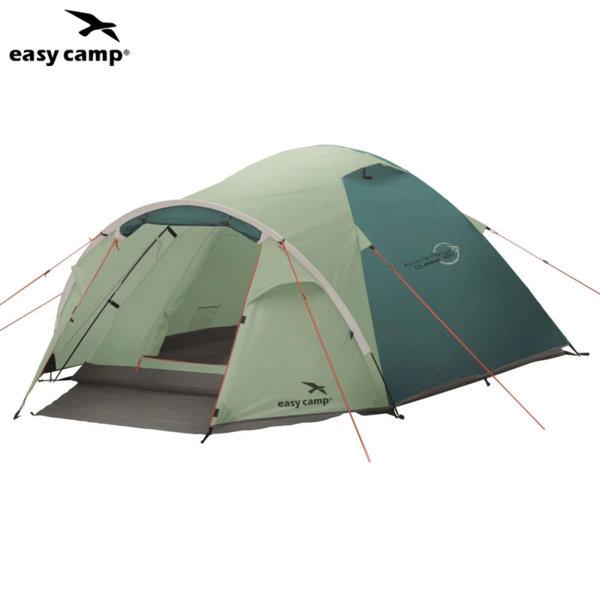 Easy Camp Триместна палатка за къмпинг Xplore Quasar 300 зелена 90819