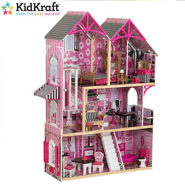 KidKraft Детска дървена куклена къща Bella 65944