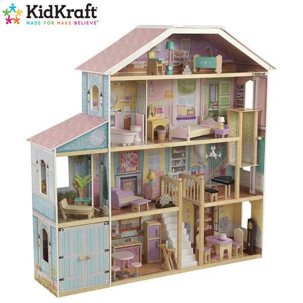 KidKraft Детска дървена куклена къща Grand View 65954