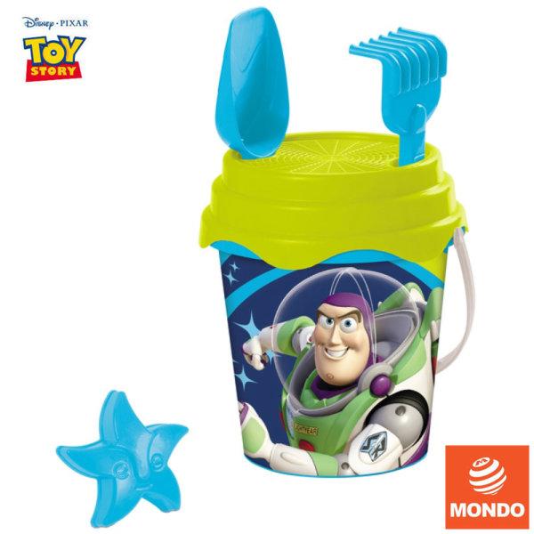 Mondo Toy Story Детска кофа с формичка Дисни Играта на играчките 28531