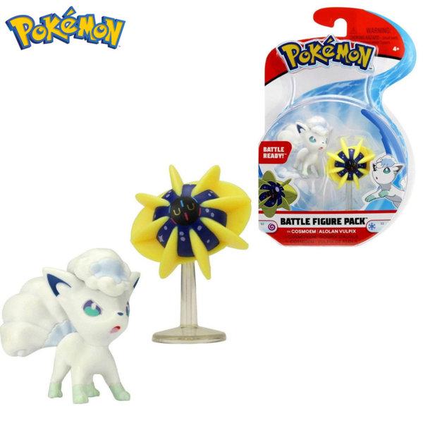 Pokemon Комплект бойни фигурки Покемон Cosmoem & Alolan Vulpix 95011