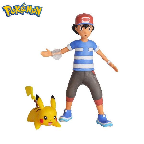 Pokemon Бойна фигура Покемон Ash & Pikachu Launching Action! 95121