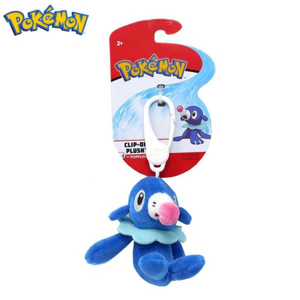 Pokemon Плюшена играчка с клипс Покемон Popplio 95171