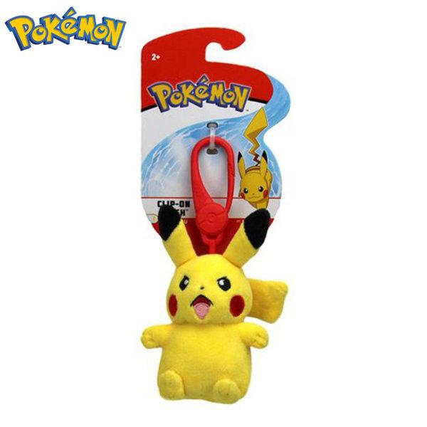 Pokemon Плюшена играчка с клипс Покемон Pikachu 95171