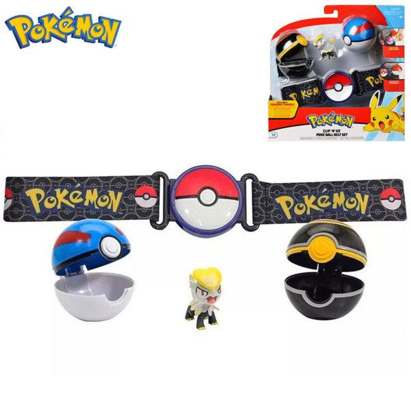 Pokemon Clip 'n' Go Колан с две топчета Pokeball и фигурка Покемон 95281