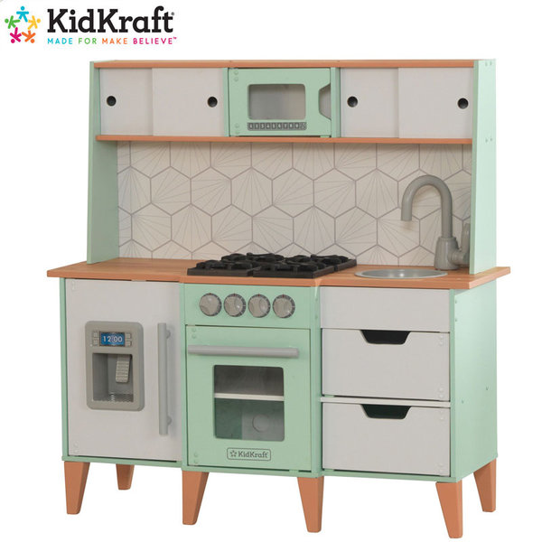 KidKraft Детска дървена кухня Mid-Century 53432