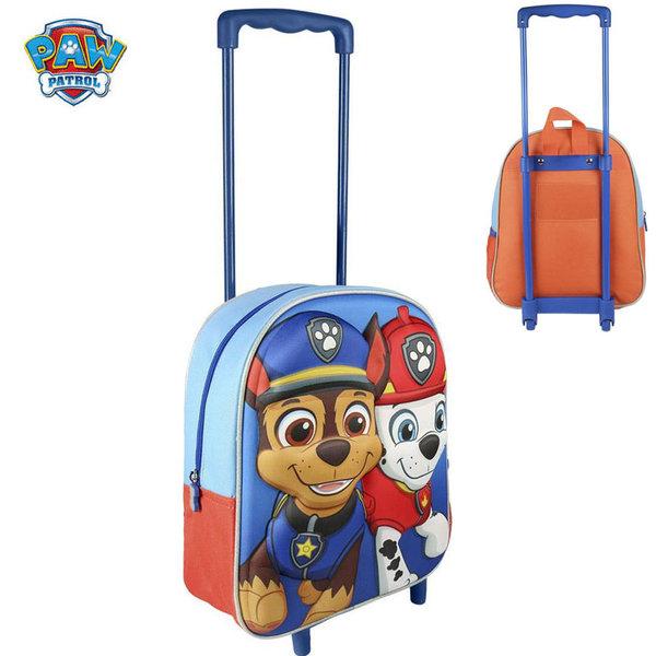 Paw Patrol - Раница за детска градина 3D тролей Пес Патрул 2285
