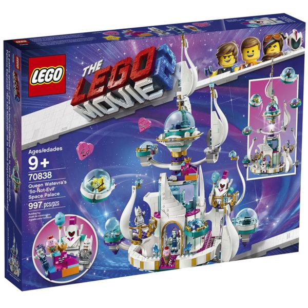 Lego 70838 The LEGO Movie2 Космическият Не-зъл замък на кралица Видоизменчива