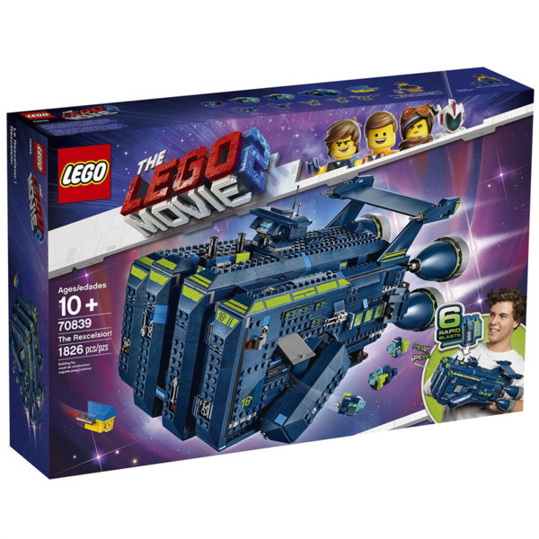 Lego 70839 The LEGO Movie2 Рекселсиор!