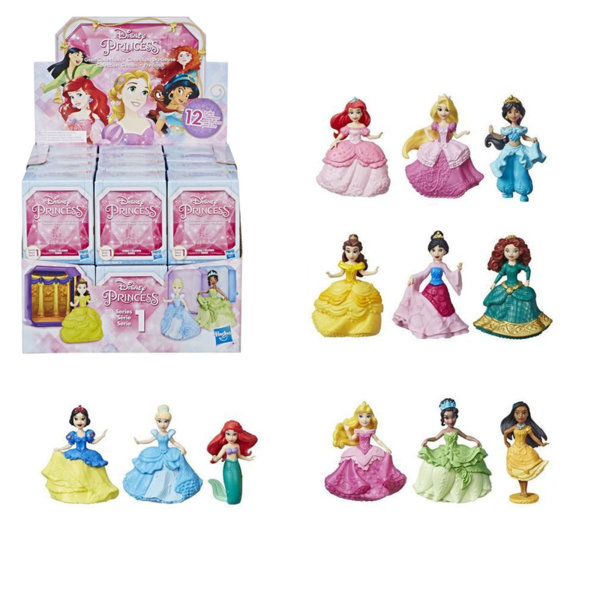 Disney Princess Мини кукла в кутийка E3437