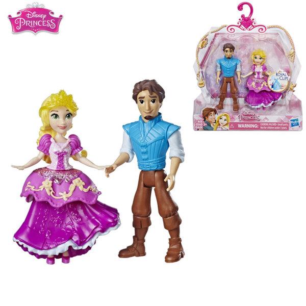 Disney Princess Комплект мини кукли Рапунцел и Флин Райдър Royal Clips E3051