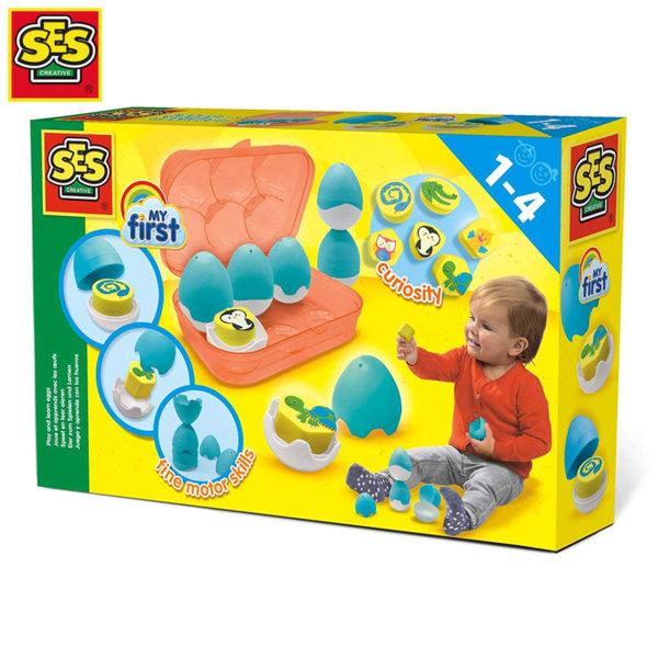 SES Creative Бебешка играчка Излюпващи се яйца 14453