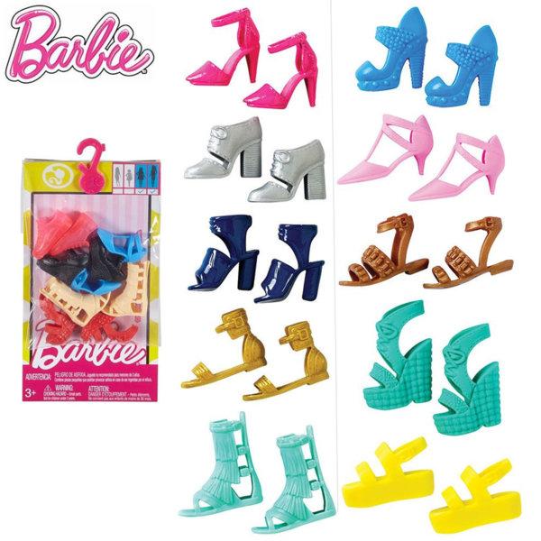 Barbie Комплект модни обувки за кукла Барби FCR91