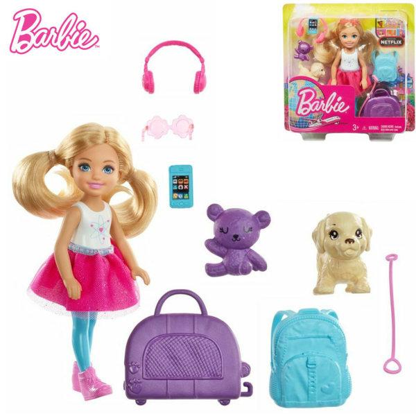 Barbie Кукла Челси пътешественичка FWV20