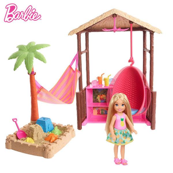 Barbie Комплект за игра Хижата на Тики FWV24
