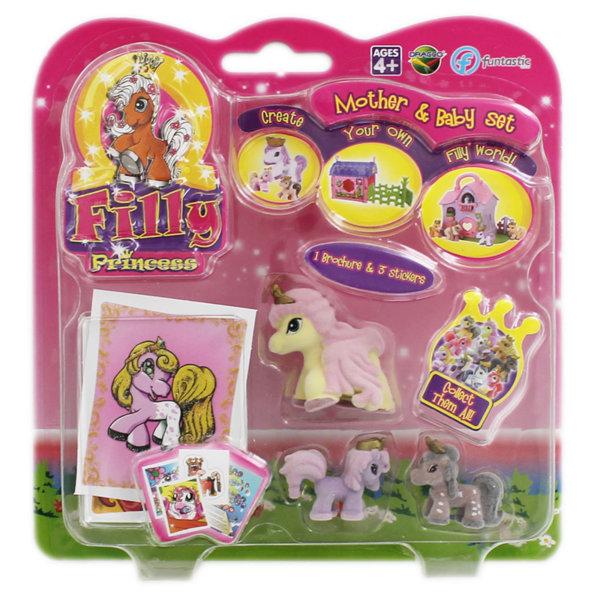 Filly Princess Майка пони с две бебета понита 000124