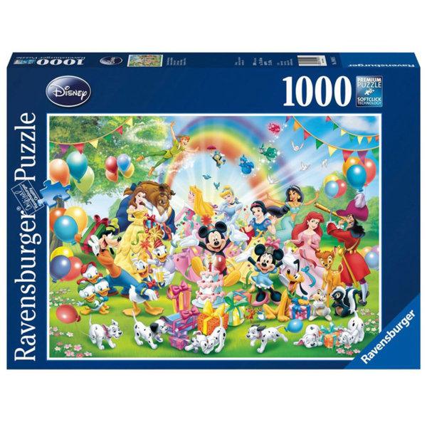 Ravensburger Пъзел 10+ Disney Рожденият ден на Мики Маус 1000 части 19019