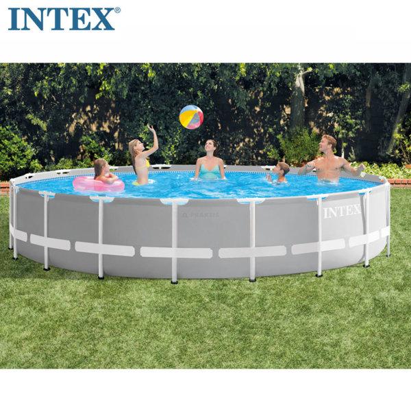 Intex Сглобяем басейн Prism Frame с филтърна помпа 549x122см 26732