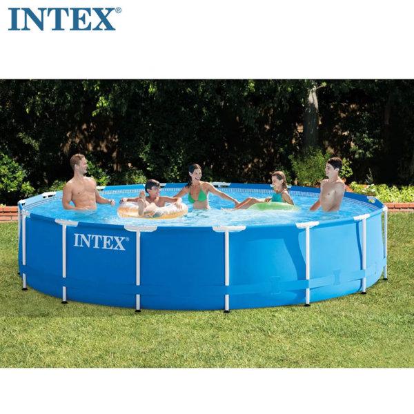 Intex Сглобяем басейн Metal Frame с филтърна помпа 457х84см 28240