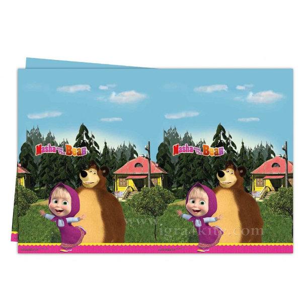 Masha and the Bear - Маша и Мечока Парти покривка 86515