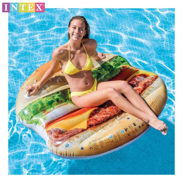 Intex Надуваем остров Хамбургер 58780