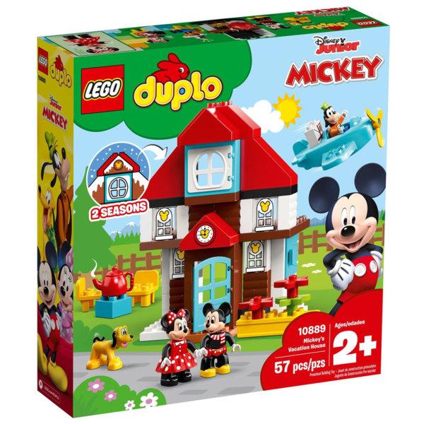 Lego 10889 Duplo Къщата за почивка на Mickey