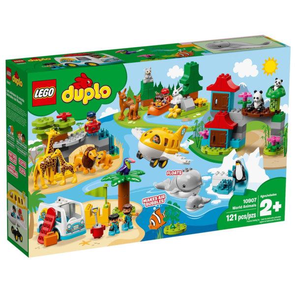 Lego 10907 Duplo Животните по света