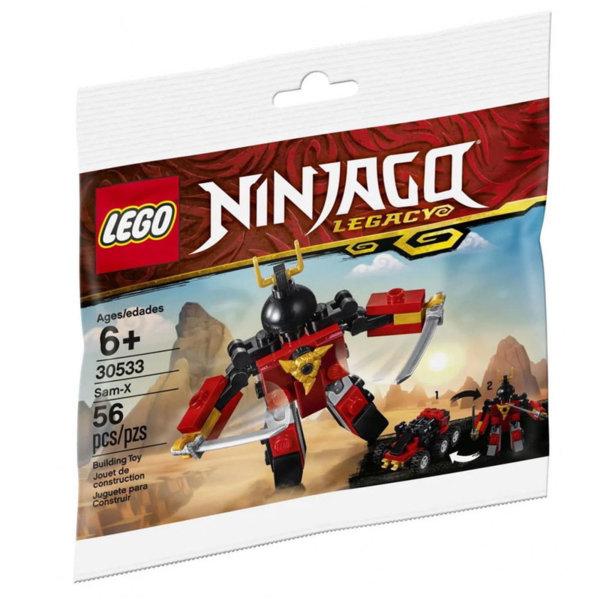 Lego 30533 Ninjago Сам Х