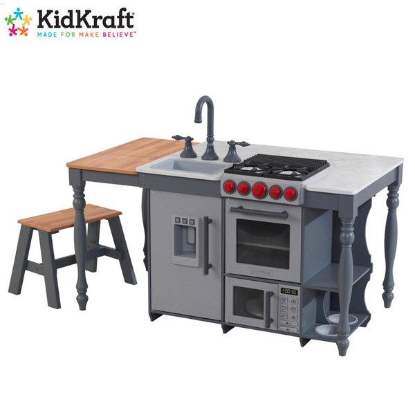 KidKraft Детска дървена кухня остров Chef's Cook 53420
