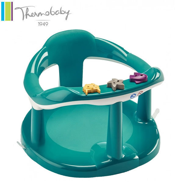 Thermobaby - Седалка за къпане Пауново зелено 2195346