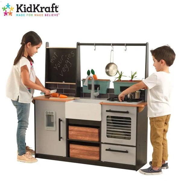 KidKraft Детска дървена кухня със звук и светлина Farm 53411