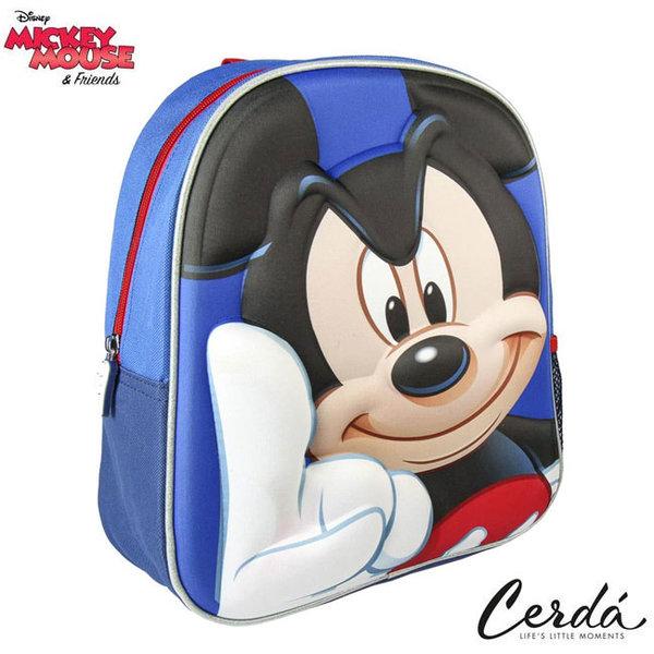 Disney Mickey Mouse - Раница за детска градина 3D Мики Маус 2208