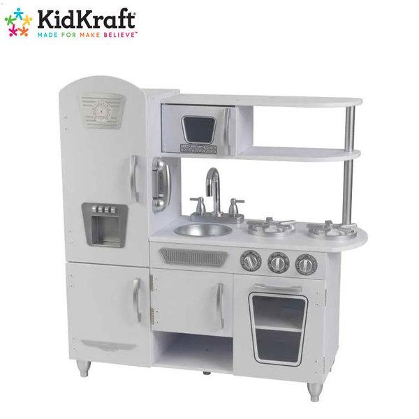 KidKraft Детска дървена кухня Vintage White 53208