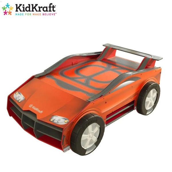 KidKraft Детска дървена състезателна маса Speedway 18027