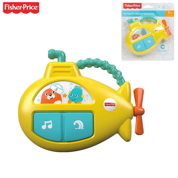 Fisher Price Музикална играчка Подводница GFX89