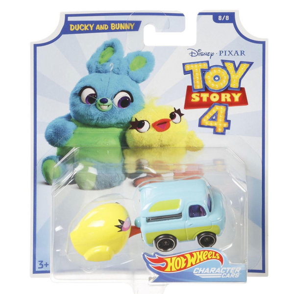 Disney Toy Story Количка герой 1:64 Ducky and Bunny GCY52