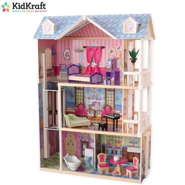 KidKraft Детска куклена къща със светлина и звук My Dreamy house 65823