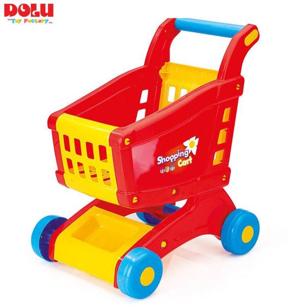 Dolu Детска количка за пазаруване червена 7058