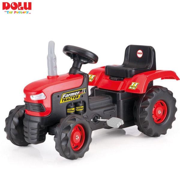 Dolu Детски трактор с педали червен 8050