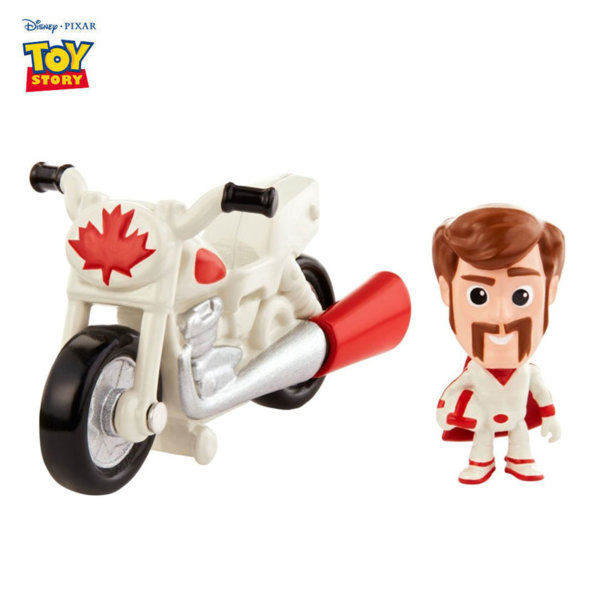 Disney Toy Story Мини фигурка с превозно средство Duke Caboom & Stunt Bike GCY49