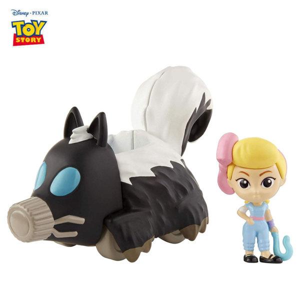 Disney Toy Story Мини фигурка с превозно средство Bo Peep & Skunkmobile GCY49