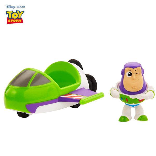 Disney Toy Story Мини фигурка с превозно средство Buzz Lightyear & Spaceship GCY49
