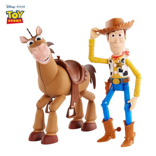 Disney Toy Story Шерифа Уди и неговият кон Булсай GGB26