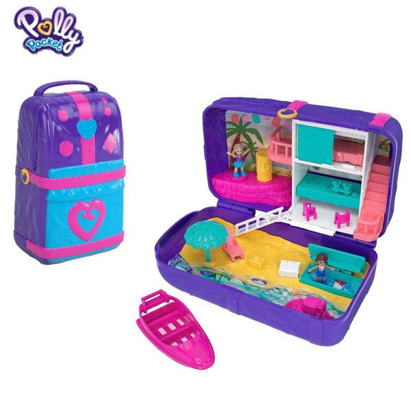 Polly Pocket Комплект за игра Скрити места Плажни забавления FRY39