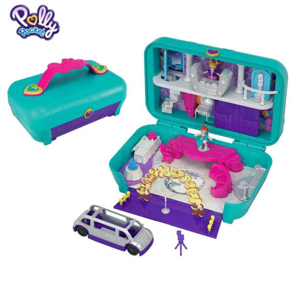 Polly Pocket Комплект за игра Скрити места Денс парти център FRY39