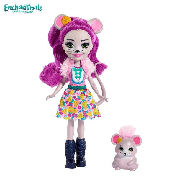 Enchantimals Пазители на гората Кукла Mayla Mouse FXM76