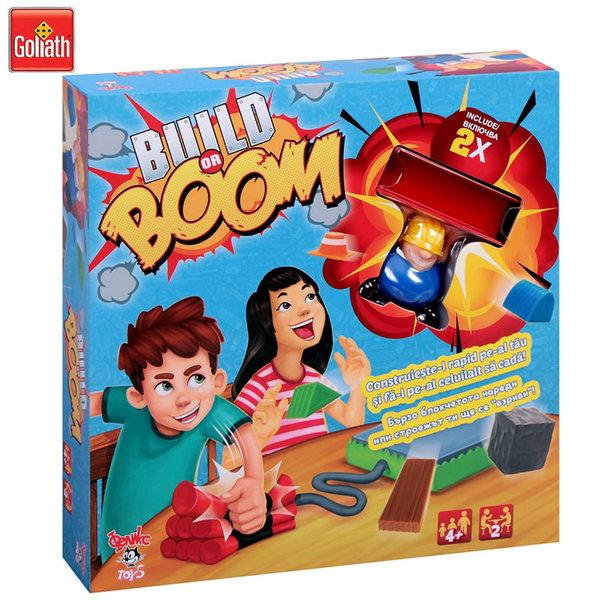 Goliath Забавна игра Build or Boom 77108